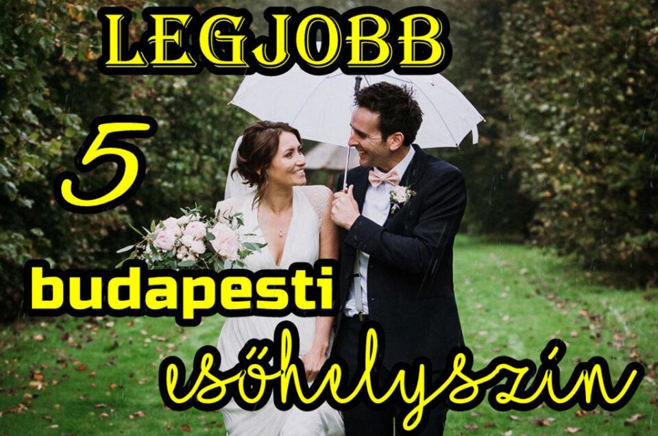 Legjobb 5 budapesti esőhelyszín esküvői kreatív fotózásra